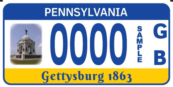 PA Monument Plate